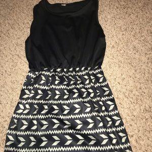 Dresses & Skirts - Black, grey and white dress